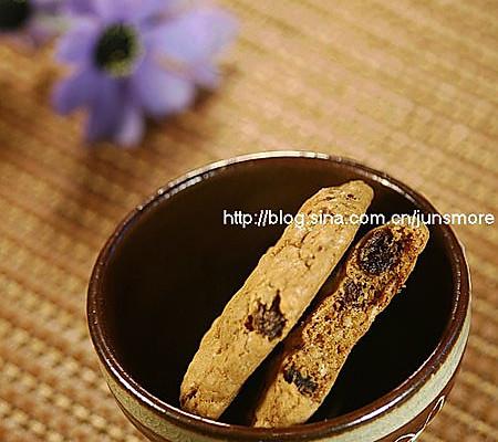 甜蜜感觉——燕麦葡萄甜饼的做法
