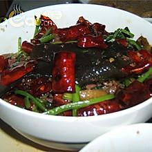 蕨粑芹菜炒火腿