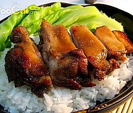 经典午餐——烤鸭腿盖饭的做法