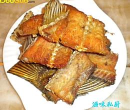 香煎魭鱼骨的做法