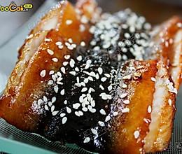 蜜汁烤鳗的做法