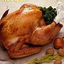 圣诞传统美食烤火鸡