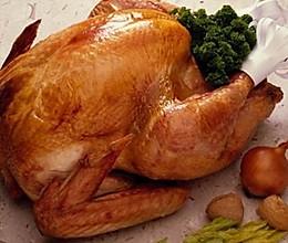 圣诞传统美食烤火鸡的做法