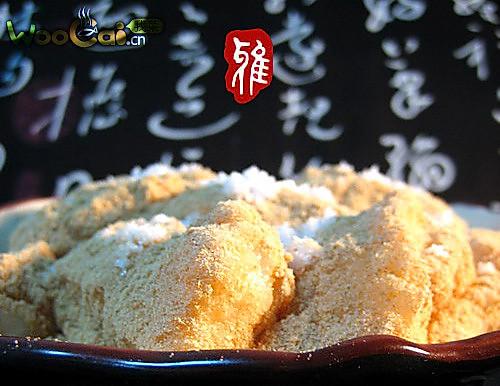 美食DIY 黄豆粉打糕的做法