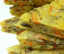 家常早餐:紫菜胡萝卜蛋饼的做法