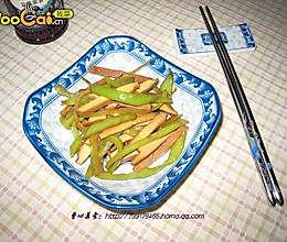豆干尖椒的做法