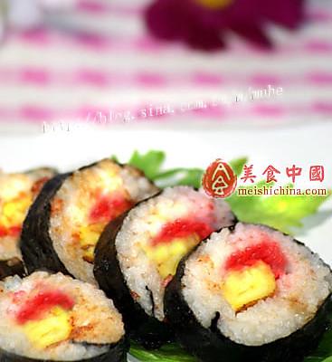烧三鲜海苔寿司的做法