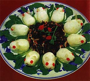 玉兔海参的做法
