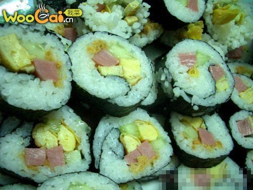经典寿司的做法