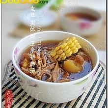 虫草玉米猪蹄汤
