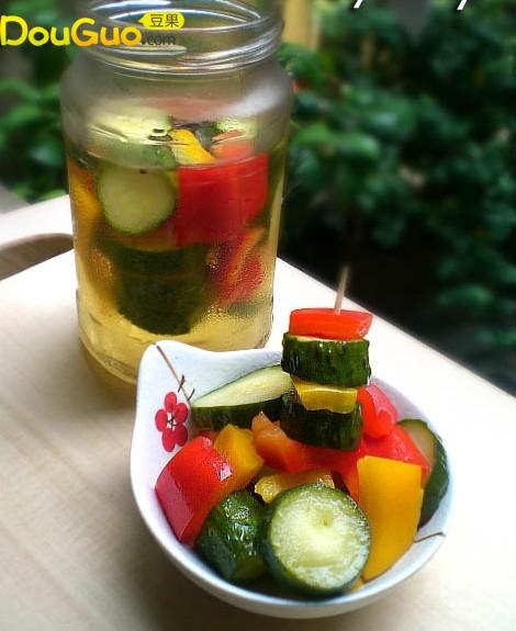 【没有泡菜坛子照样吃酸菜】-酸黄瓜的做法