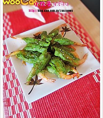 茶香酥沙虾的做法