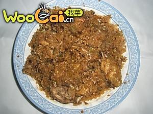 软糯咸香的米粉童子鸡的做法