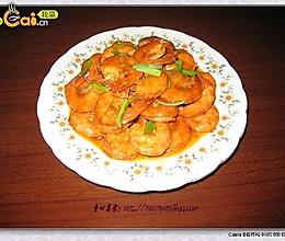酸甜茄汁虾的做法