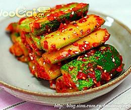 韩国小菜 凉拌黄瓜条的做法