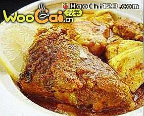 咖喱鱼头油豆腐的做法