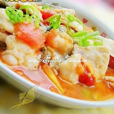 番茄溜鱼片的做法