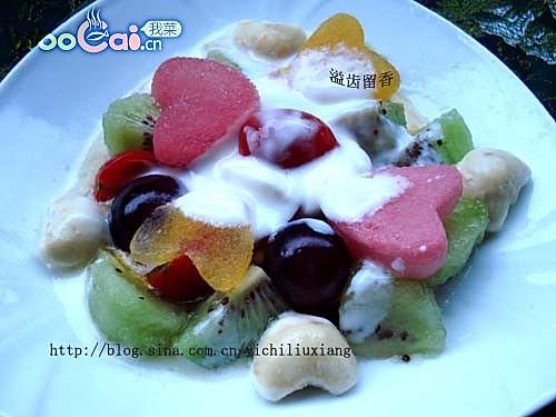 酸奶水果拌的做法