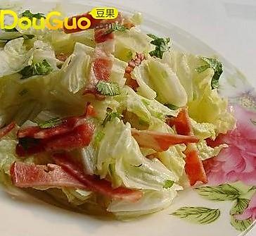 大白菜培根色拉的做法