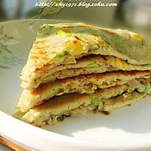豆浆蔬菜煎饼---营养早餐自己做