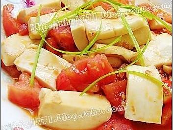 番茄溜豆腐