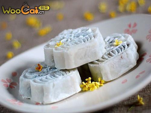 美味甜点——山药桂花豆沙糕的做法