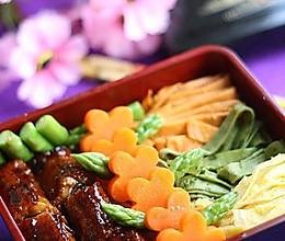 锦绣蛋丝鳗鱼饭 的做法