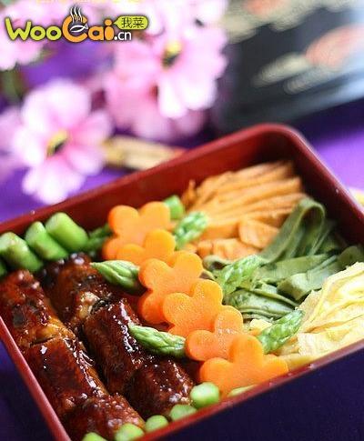 锦绣蛋丝鳗鱼饭的做法
