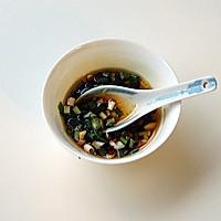 白灼油麦菜的做法图解3