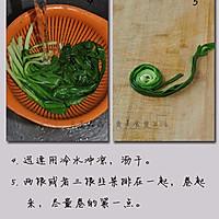 春天最水灵的养生菜--卷起来吃的烤韭菜的做法图解3