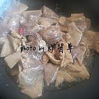 蒜苗炒猪肝的做法图解6