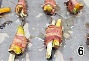 烤培根南瓜卷的做法图解6