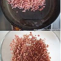 香煎培根吐司的做法图解1