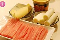 京酱肉丝的做法图解1