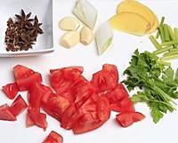 西红柿炖牛腩的做法图解2