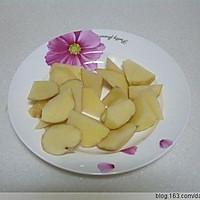 红烧肉炖土豆芸豆的做法图解1