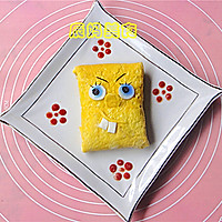 海绵宝宝蛋包饭的做法图解8