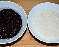 腐皮糯米豆沙卷的做法图解1