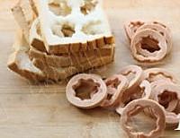 焗烤火腿面包布丁的做法图解1