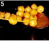 巴西烤肉味鱼丸的做法图解5
