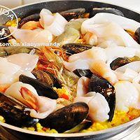 西班牙海鲜饭 Seafood Paella的做法图解8