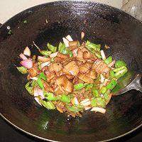 榨菜辣椒炒肉的做法图解5