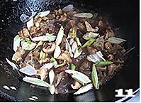菌菇烩驼筋的做法图解11
