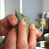嗜肉族最爱的【咸蛋黄五花肉粽】的做法图解16