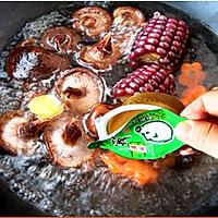 红蘑虾皮玉米汤的做法图解3