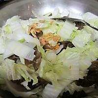 干贝白菜炖粉丝的做法图解4