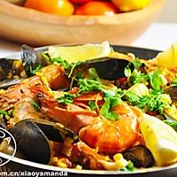 西班牙海鲜饭 Seafood Paella的做法图解10