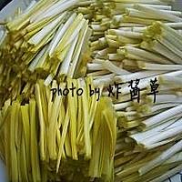 蒜黄炒滑蛋的做法图解1