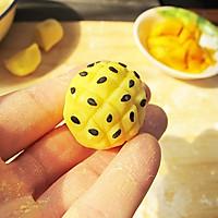 水晶菠萝:让人喜欢的不得了的治愈系面点的做法图解6