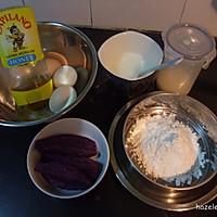 紫薯铜锣烧的做法图解1